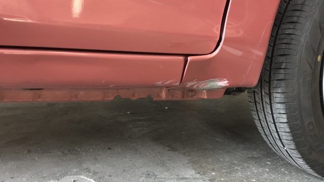 三菱 新車ekワゴン フロントフェンダー修理 [見積書付き]