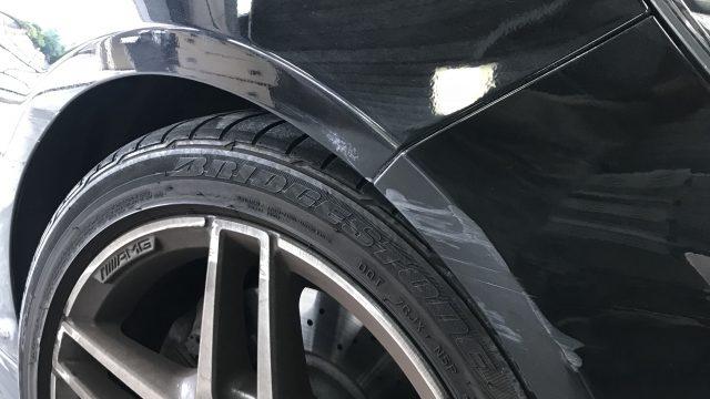 ベンツ W212 E350 側面修理 [見積書付き]