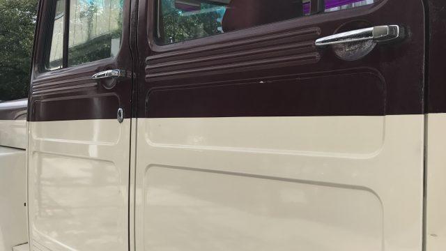 三菱 ジープ 錆び修理