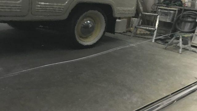 トヨタ ハイエース 線キズ修理