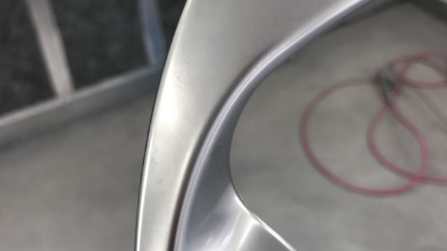 ルノー  インナーハンドル塗装