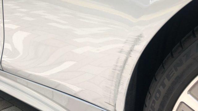 BMW 420i フロントドア リヤフェンダー修理