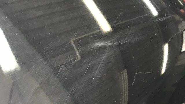 ダイハツ タントRS  新車キズ磨き
