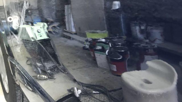 トヨタ ハイエース スライドドア修理