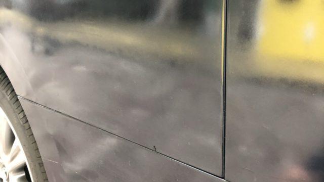トヨタ ヴェルファイア 側面修理