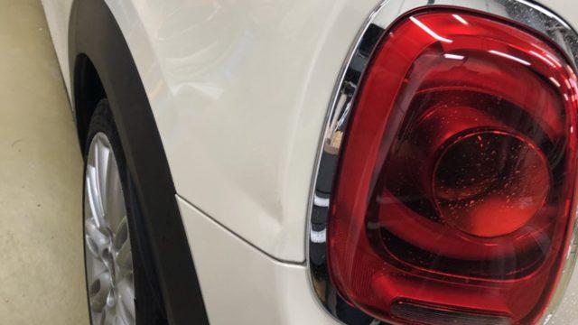 BMW MINI リヤフェンダー修理