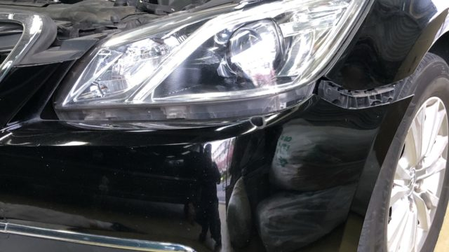 [見積書付き]トヨタ クラウン フロントバンパー修理