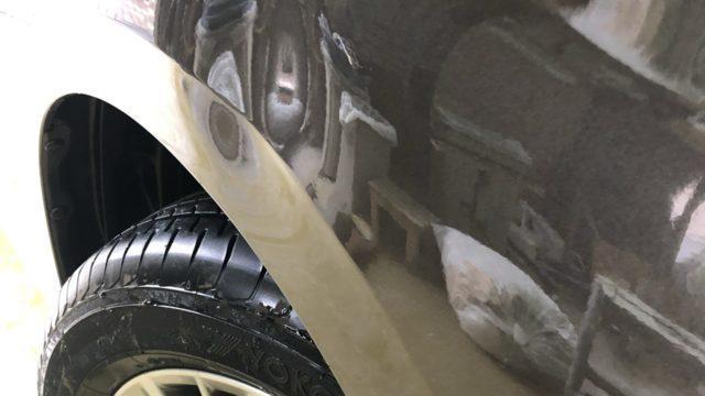 [見積書付き] トヨタ アルファード フロントフェンダー フロントドア 修理