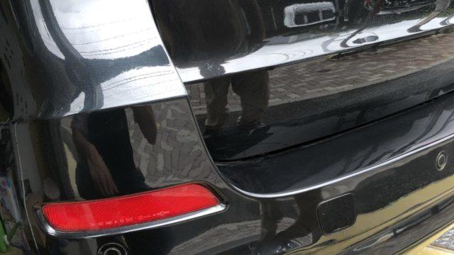 [見積書付き]      BMW X5 リヤバンパー修理