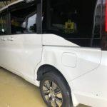 ホンダ ステップワゴン スライドドア リヤフェンダー修理