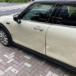 BMW MINIクーパー クラブマン フロントドア リヤドア修理