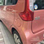 三菱 ekワゴン リヤバンパー修理