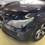 BMW 525i フロントバンパー修理