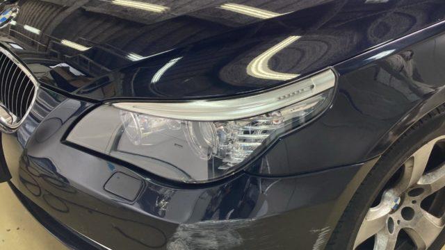 [見積書付き]   BMW 525i フロントバンパー修理