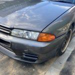 日産スカイラインGT-R  R32         フロントバンパー修理