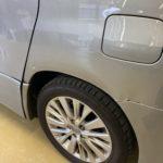 トヨタ アルファード スライドドア リヤフェンダー修理