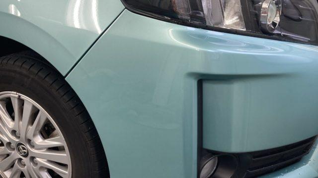 [見積書付き] トヨタ ヴォクシー フロントバンパー修理