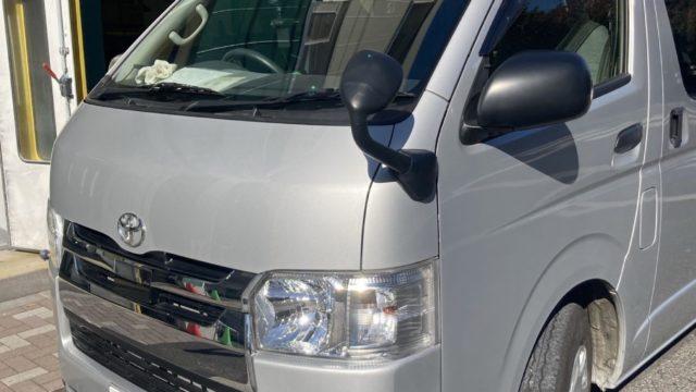 [見積書付き] トヨタ ハイエース スライドドア修理