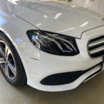[見積書付き] ベンツ E220d フロントバンパー修理