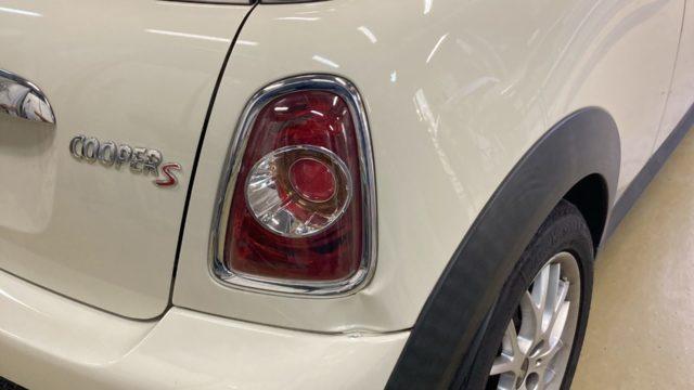[見積書付き] BMW ミニクーパーS  リヤフェンダー リヤバンパー修理