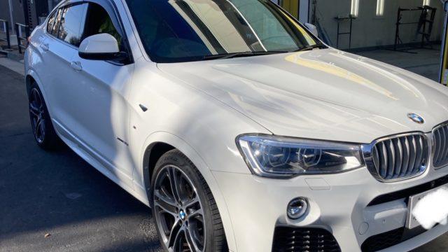 [見積り書付き]BMW X4 リヤバンパー修理