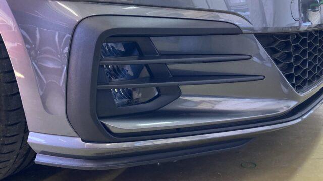 [見積り書付き]   VW ゴルフGTI フロントバンパー修理