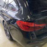 [見積書付き]  BMW 523iツーリング リヤバンパー修理