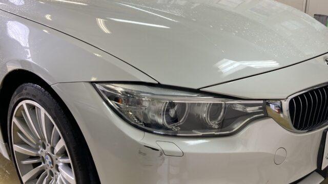 [見積書付き]   BMW 420i フロントバンパー修理