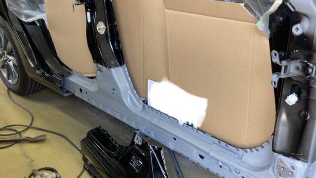 マツダ MAZDA6 ステップ交換 フロントフェンダー修理