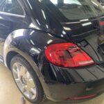 VW ビートル リヤフェンダー リヤバンパー修理