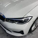 BMW320d フロントバンパー修理